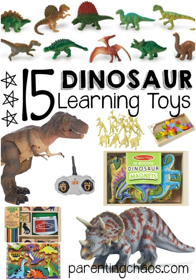 15 Educational Dinosaur Toys