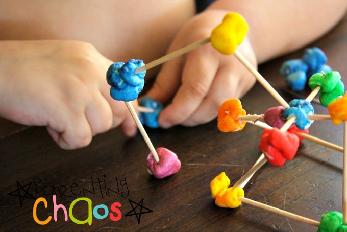 Engineering for Kids- Toothpick Construction