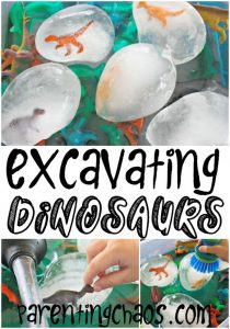 Excavating Dinosaurs from Ice