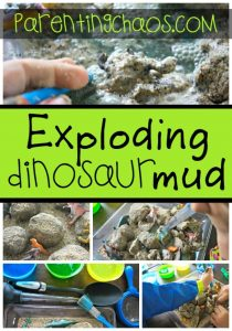 Fizzing Dinosaur Eggs and Exploding Mud!