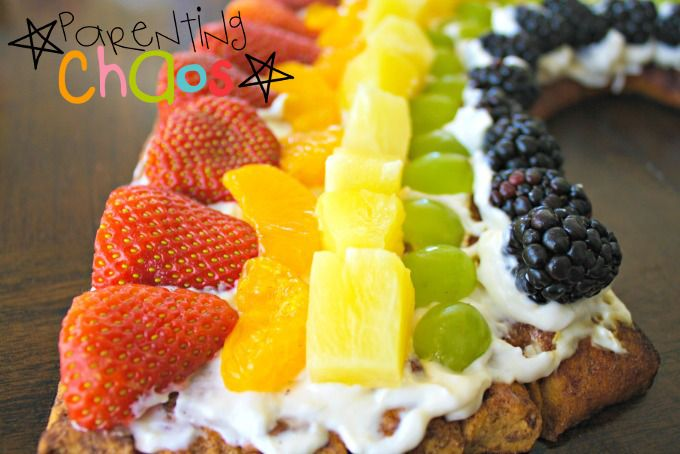 Rainbow Fruit Cake
