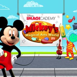 Disney Imagicademy Mickey's Magical Art World iPad App for Kids