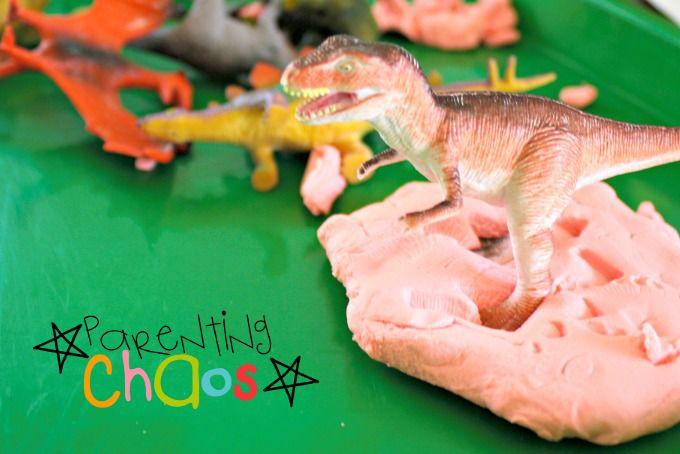 Playdough Dinosaur Fossils Exploring Dinosaur Breeds
