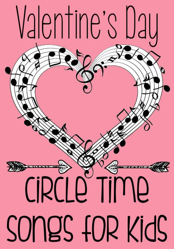Valentine's Day Circle Time Songs for Preschool
