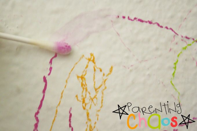Removing Crayon from Walls