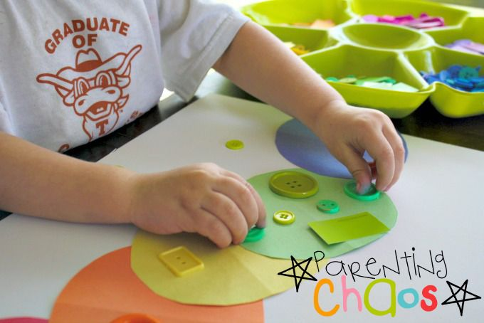 The Very Hungry Caterpillar Size Sorting Activity for Toddlers