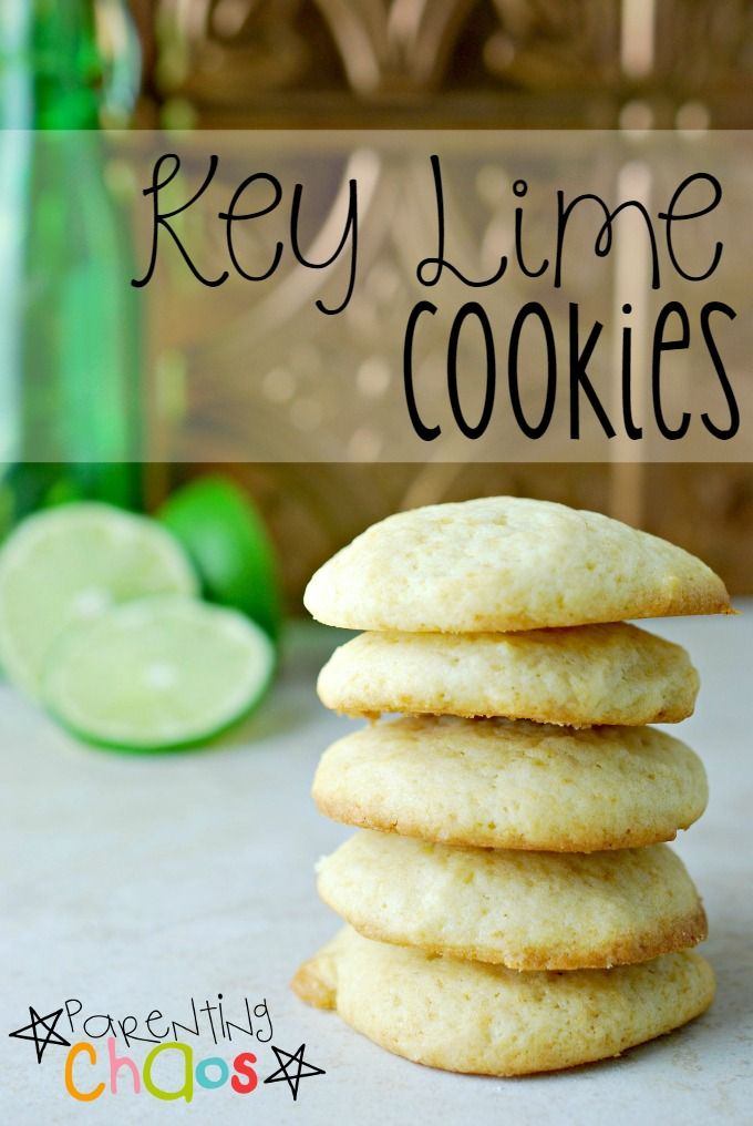 Easy Key Lime Cookies