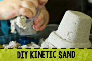 DIY Kinetic Sand Sidebar