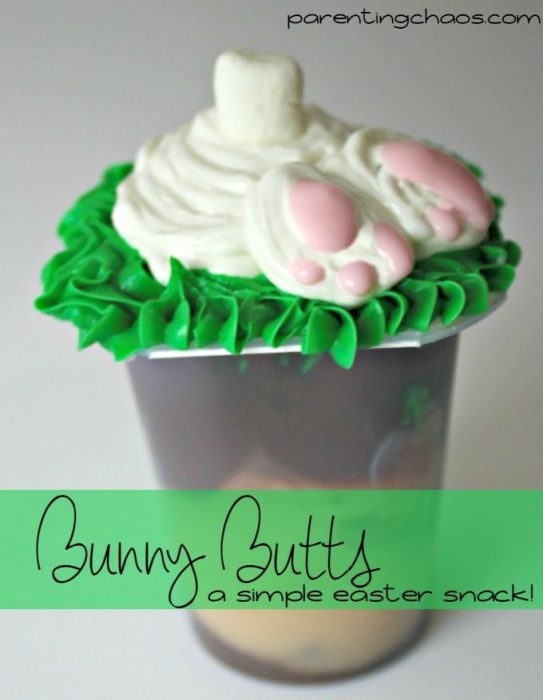 Bunny Butts Easter Snack!