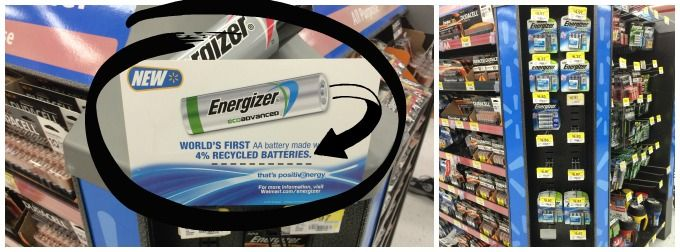 Energizer's Ecoadvanced Batteries