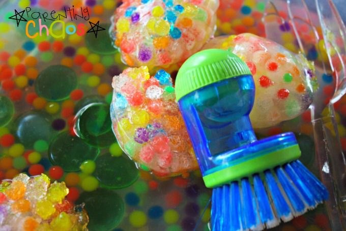 Items Needed for Frozen Water Beads