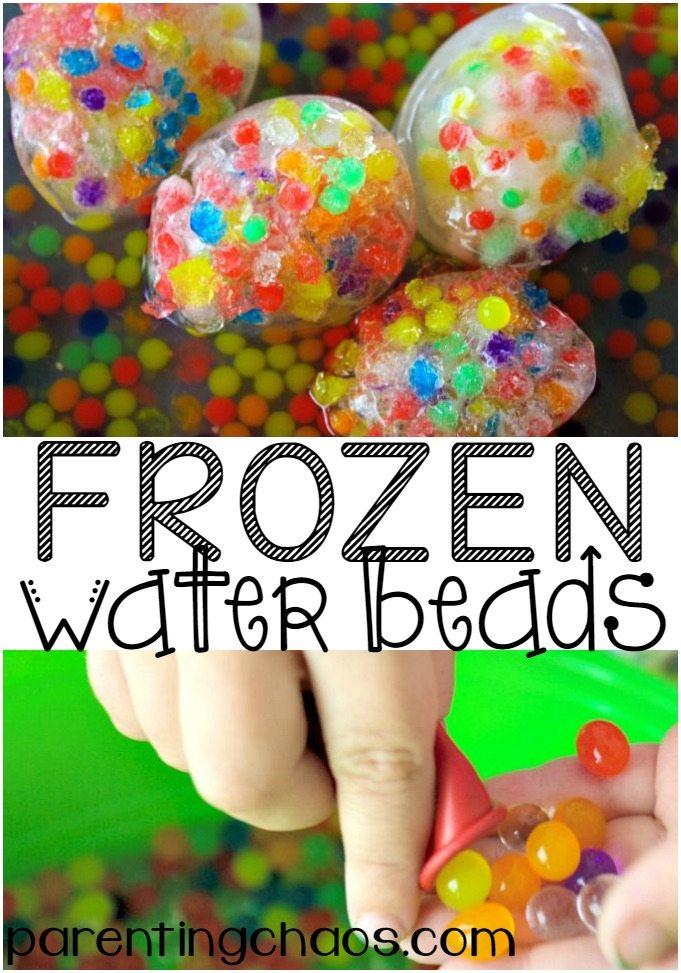 Frozen Water Beads