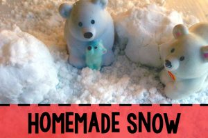Homemade Snow