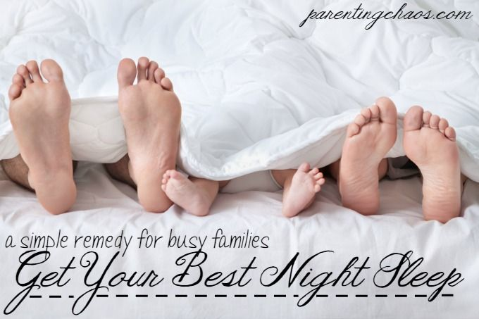 How to Get Your Best Night Sleep