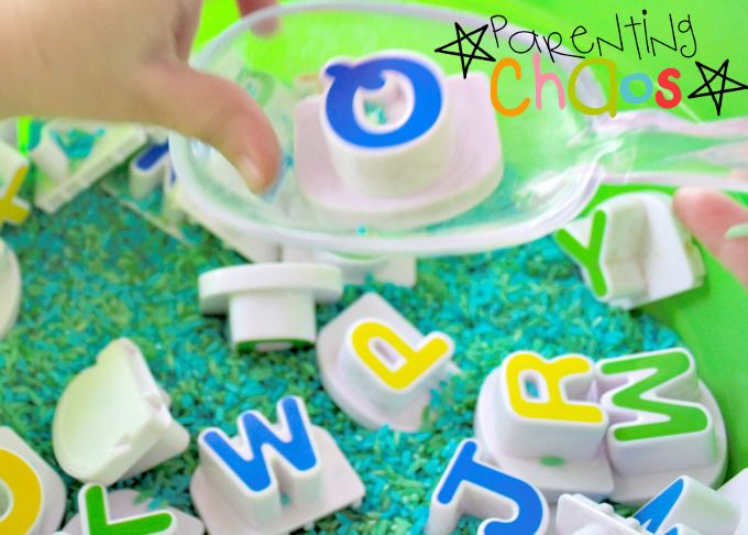 Letter Factory Mixed Up Letters Game for Kids