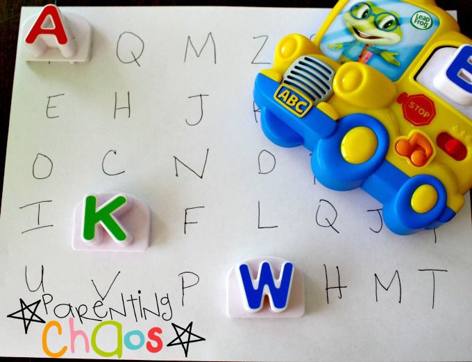 Letter Factory Mixed Up Letters Game