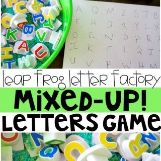 Letter Factory Mixed Up Letter Game!