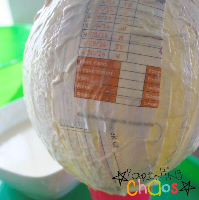 Papier-mâché World Craft
