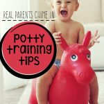 Potty Training Tips From Parents Who Have Been There!
