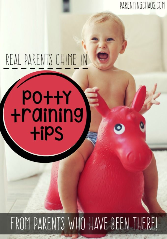 Potty Training Tips from Real Parents!