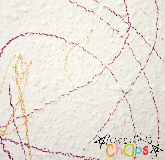 Crayons on Walls