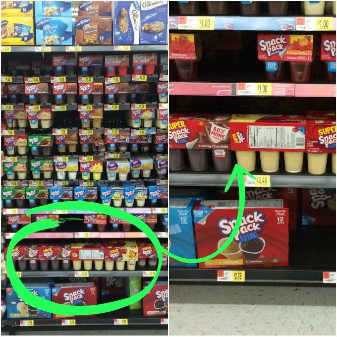Snack Pack Walmart
