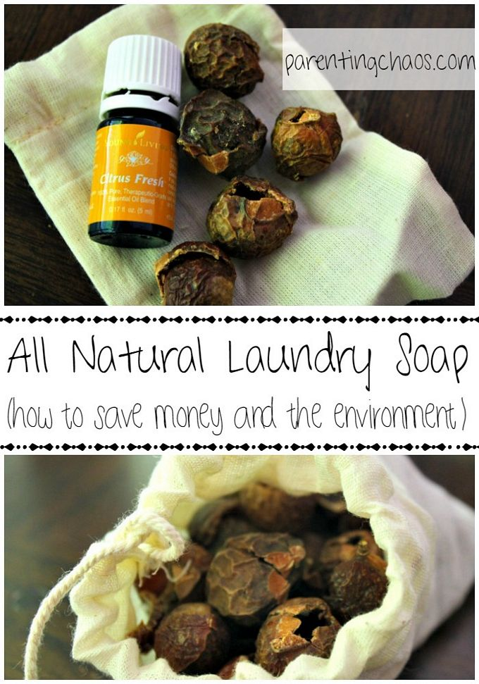 All Natural Laundry Soap