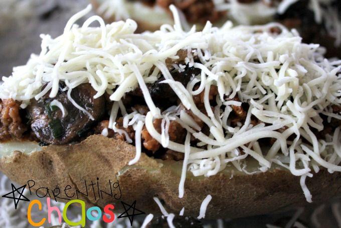 Sloppy Joe Twice Baked Potato Recipe