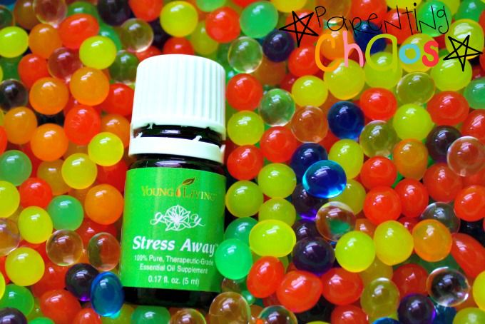 Stress Away Water Bead Sensory Play!