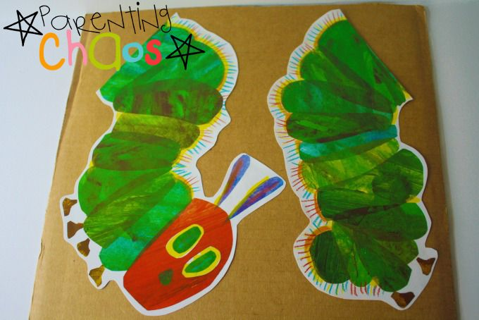 The Very Hungry Caterpillar DIY Puzzle