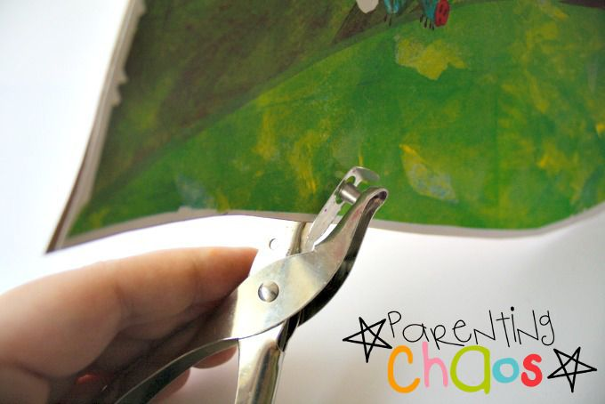 Use a Hole Punch to Create DIY Lacing Cards