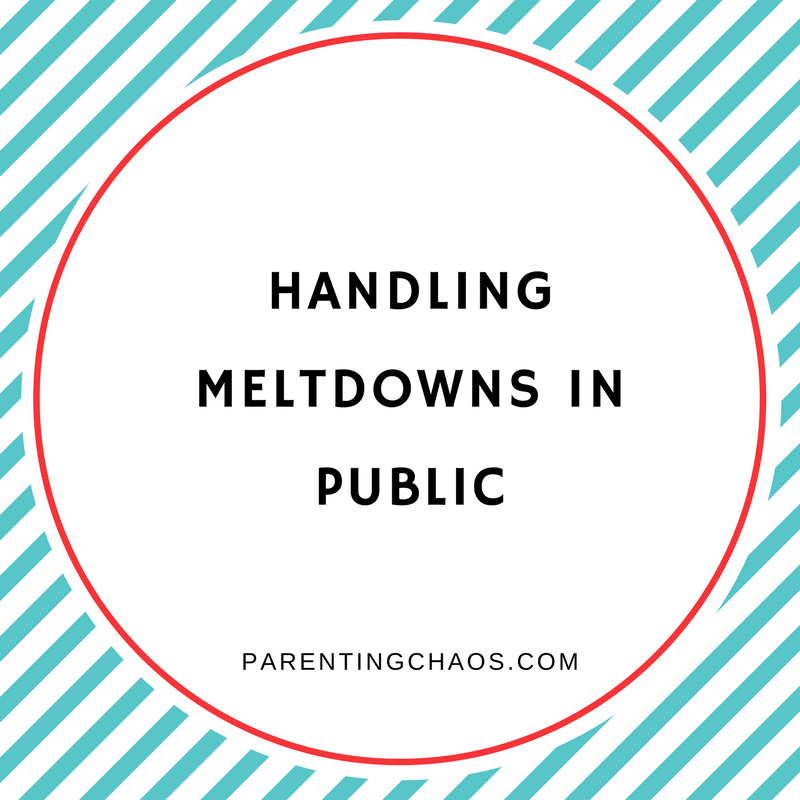 Helping Your Autistic Child with Public Meltdowns