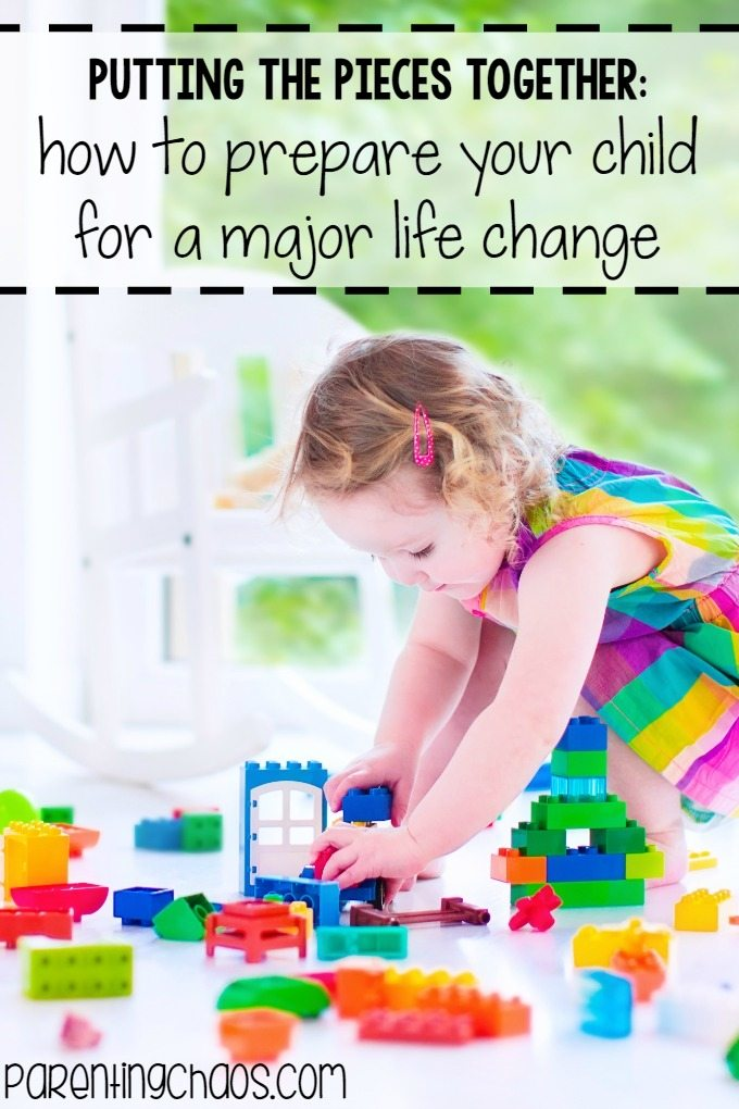 How to Prepare Your Child for a Major Life Change