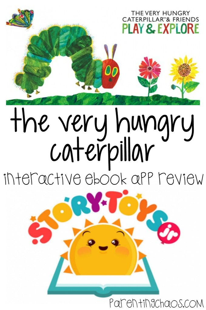 The Very Hungry Caterpillar Pops up on iOS
