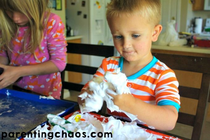 ABC Car Wash Sensory Bin