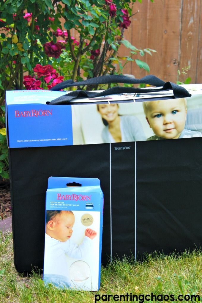 BABYBJORN Travel Crib Review and Giveaway