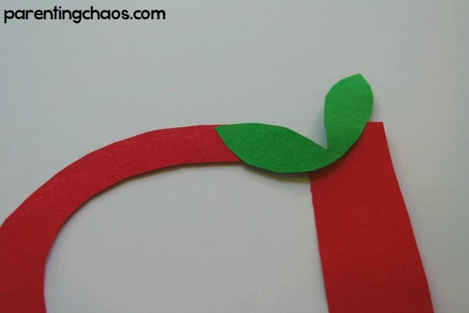 Letter of the Week: A is for Apple Craft