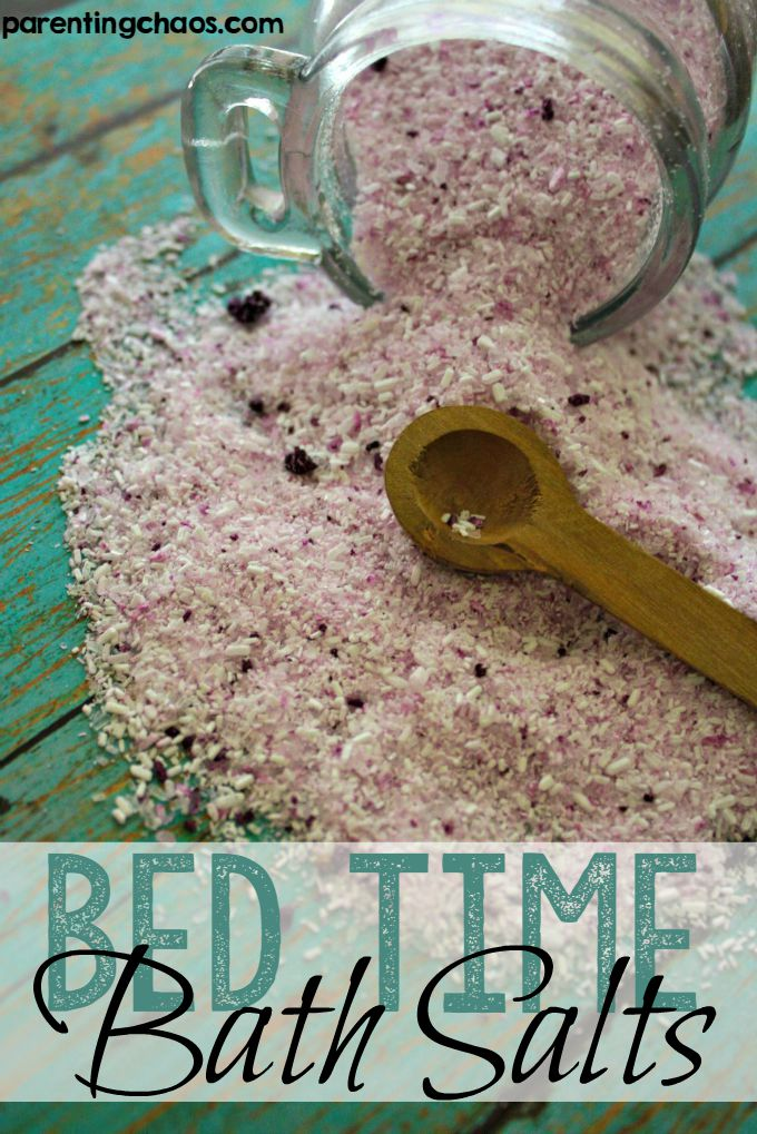 These Bedtime Bath Salts are Heavenly!