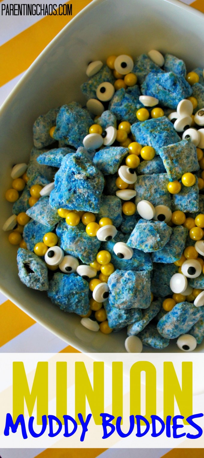 Minion Muddy Buddies...WHAAAT?!