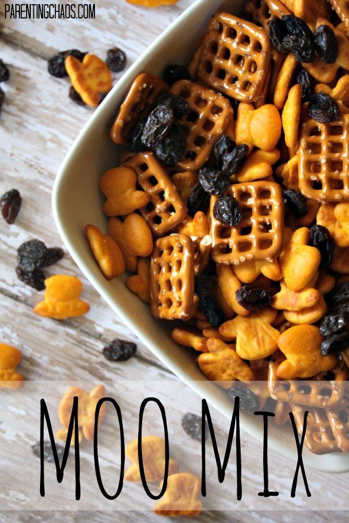 Moo Mix: An Imagination Friendly Trail Mix!