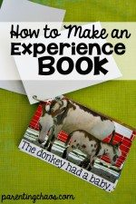 How to Make an Experience Book
