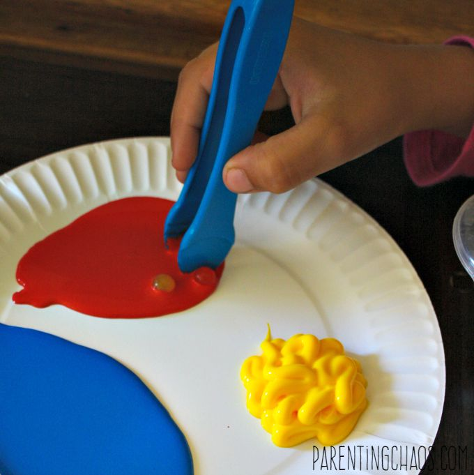 Painting with Water Beads