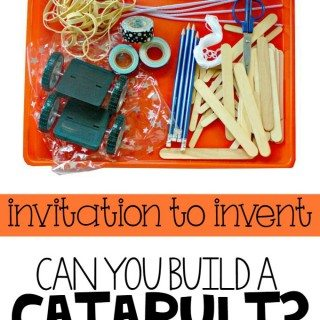 invitation to Invent: Can you Build a Catapult?