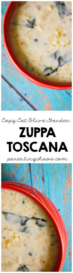 This Zuppa Toscana copycat recipe is budget-friendly, incredibly easy to make, and tastes a million times better than the original!