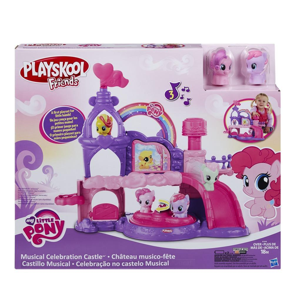 WOW Fun Toy - My Little Pony Playskool Friends Musical Celebration Castle