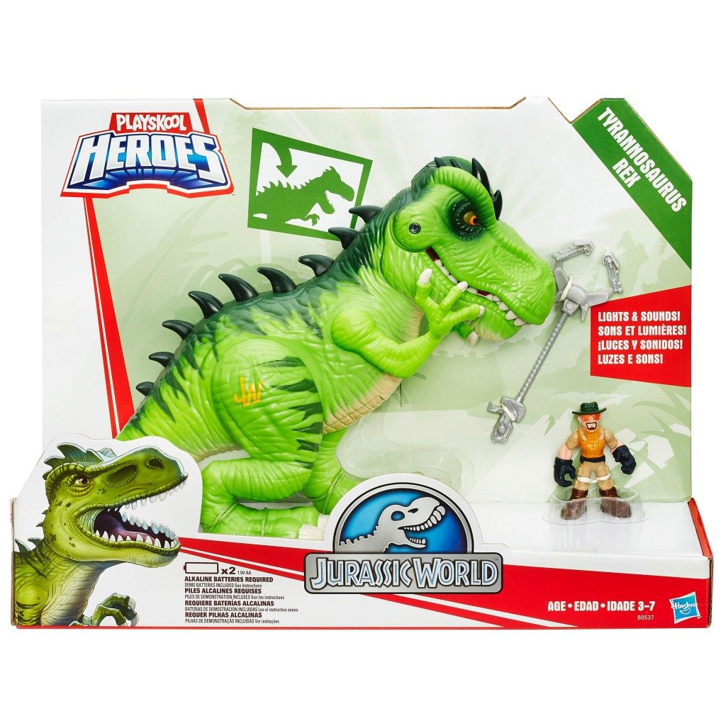 Great Gift for kids Playschool Heroes Jurassic Park TRex
