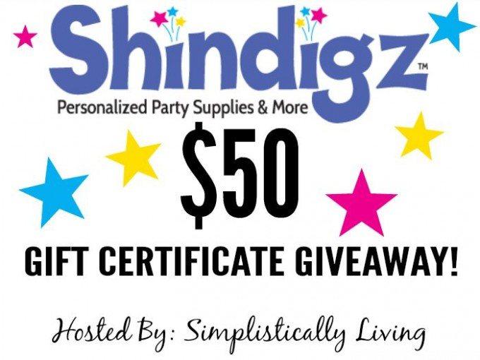 Shindigz Giveaway!