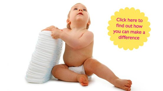 Help Wipe Out the Diaper Need