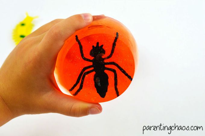 Jurassic Amber Fossil Bug Soap
