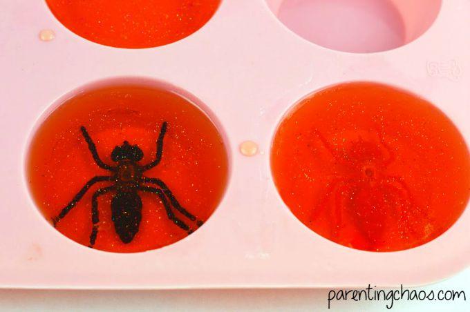 Amber Glitter Bug Soap